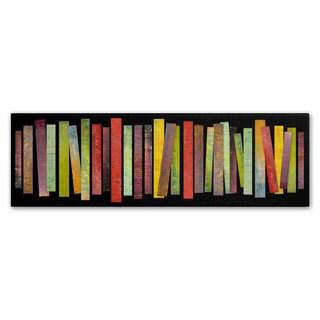 Michelle Calkins 'Thirty Stripes 1.0' Canvas Art
