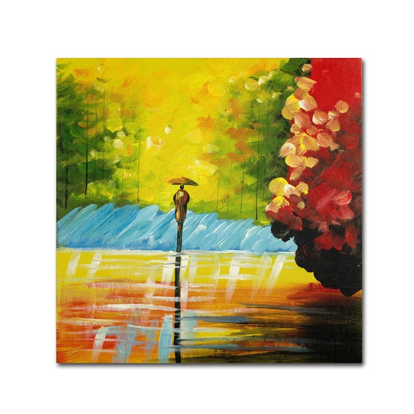 Ricardo Tapia 'Rainy Day' Canvas Art 14161336