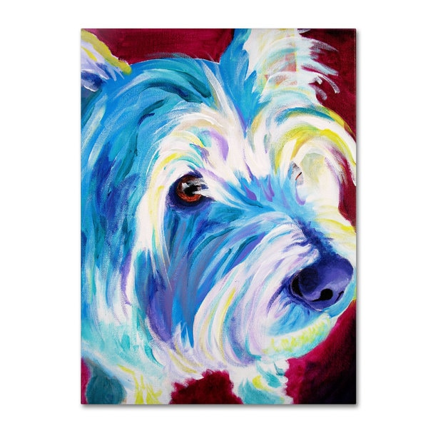 DawgArt 'Westie' Canvas Art