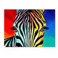 DawgArt 'Zebra' Canvas Art