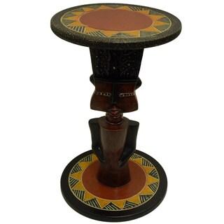Hand-styled Fante Arts Table (Ghana)