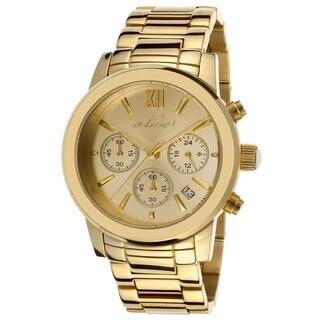 A Line Women's AL-80597-YG-10 Sophi goldtone Watch