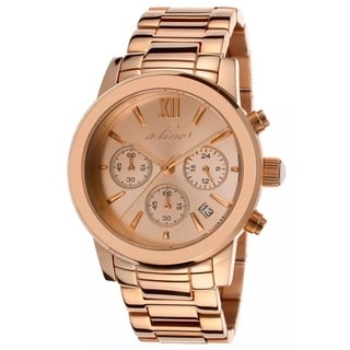A-Line Women's AL-80597-RG-99 Sophi Rose goldtone Watch