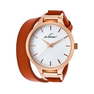 A Line Women's AL-80027-RG-02-OAS Gemini White Watch