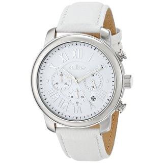 A Line Women's AL-80163-02-WHT Amor White Watch