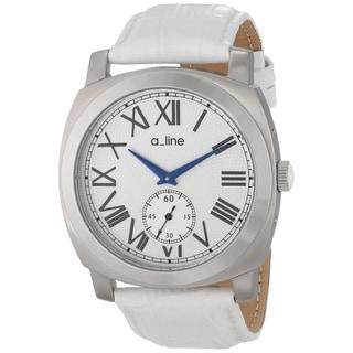 A Line Women's AL-80023-02-WH Pyar Silver Watch