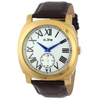 A Line Women's AL-80023-YG-02-BR Pyar White Watch