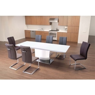 Pierrefronds Extension Dining Table White
