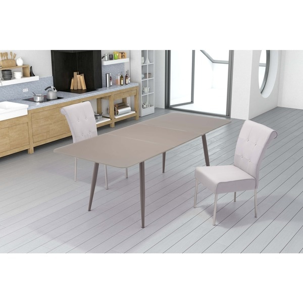 Mercier Extension Dining Table Mocha