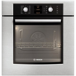 Bosch 27-inch Electric Wall Stainless Steel Oven