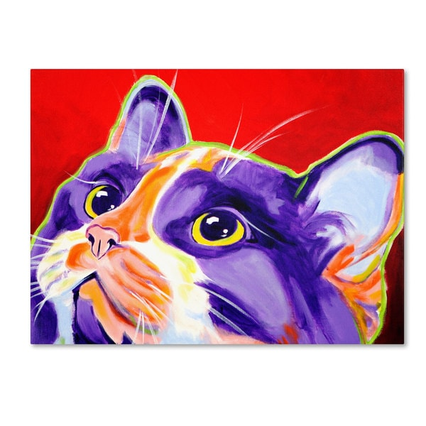 DawgArt 'Cat Issa' Canvas Art
