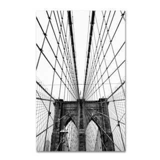 CATeyes 'Brooklyn Bridge 3' Canvas Art