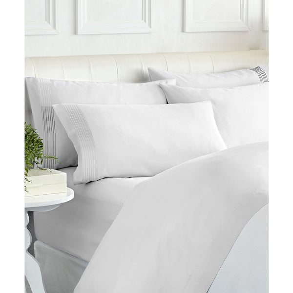 1000 Thread Count Egyptian Cotton Rich Pleated Hem Sheet Set