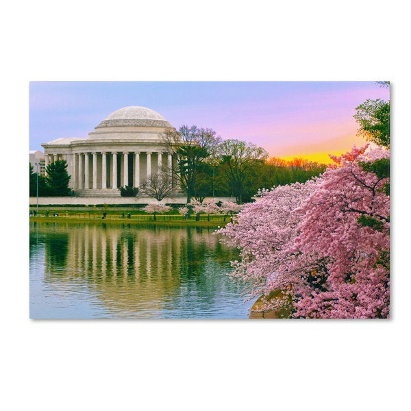CATeyes 'Cherry Blossoms 2014-6' Canvas Art