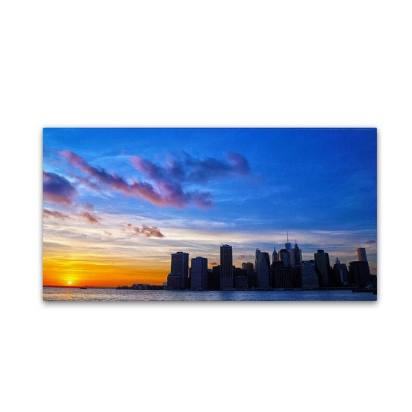 CATeyes 'NYC Sunset' Canvas Art