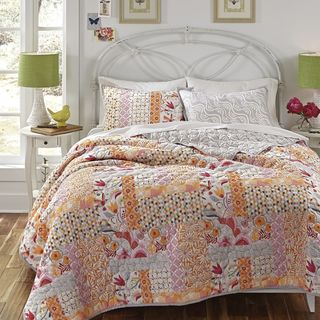 KD Spain Daydream 3-piece Cotton Quilt Set