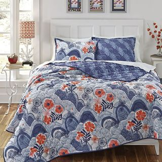 Kate Spain Hills and Valleys 3-piece Cotton Quilt Set