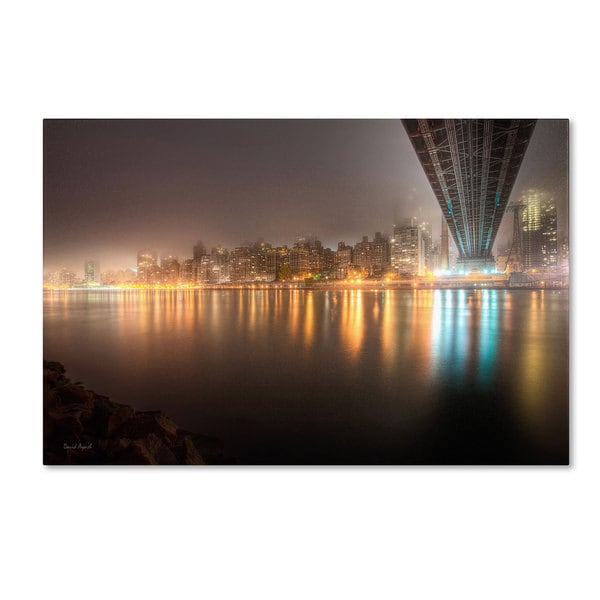 David Ayash 'Fog Under the Queensborough Bridge - Midtown'