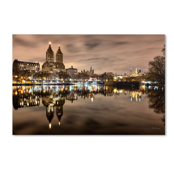 David Ayash 'Central Park West I' Canvas Art