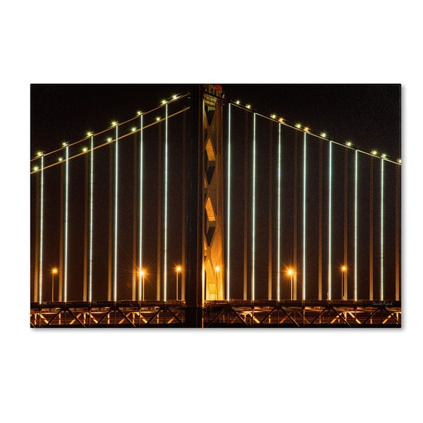 David Ayash 'Bay Bridge - San Francisco' Canvas Art