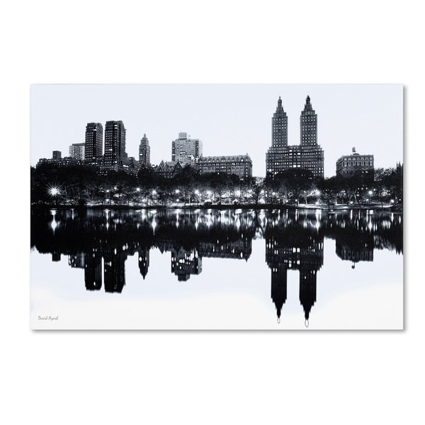 David Ayash 'Central Park West II' Canvas Art