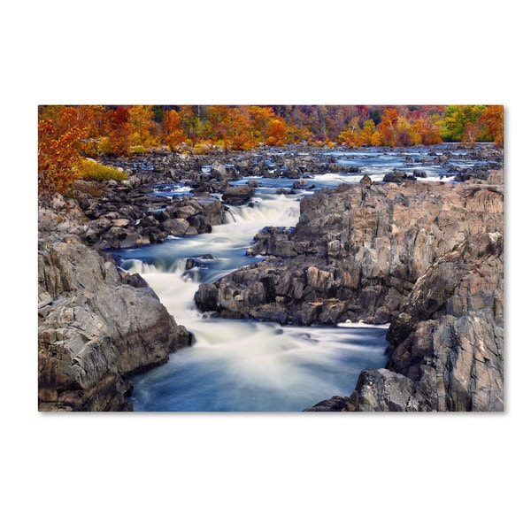 CATeyes 'Great Falls' Canvas Art