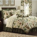 Colonial Williamsburg Garden Images 4-piece Comforter Set