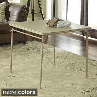 Cosco 34-inch Vinyl Top Folding Table