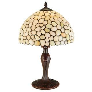 19-inch Jasper Opal Table Lamp