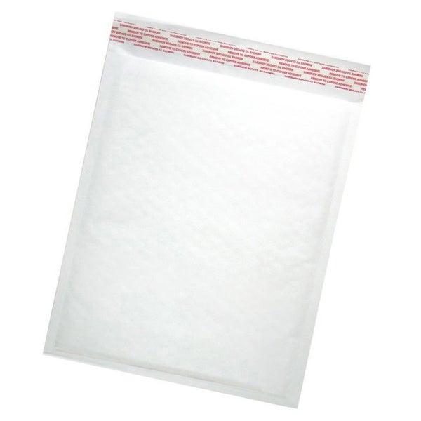 Size #000 Self-seal White Kraft Bubble Mailers