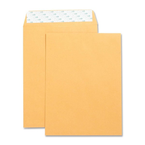 Kraft 10-inch x 13-inch Peel-N-Seal 28-pound Mailing Envelopes