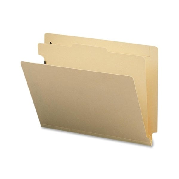 Sparco Manila End Tab 1-Div. Classification Folders - 10/ BX