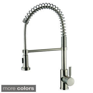 Yosemite Home Decor Single Handle Pull-out Kithcen Faucet with 2-foot Extended Hose