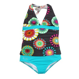 Azul Swimwear Girl's 'Pinwheels' Tankini Swimsuit