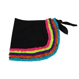 Azul Swimwear Girl's 'Chasing Rainbows' Black Pareo Cover-up