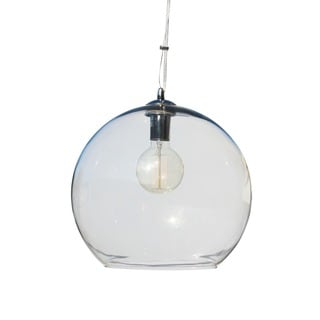 Divina 1-light Glass Globe Pendant Chandelier