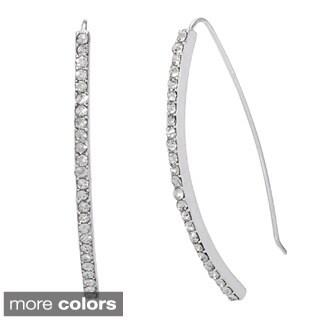 Alexa Starr A-wire Rhinestone Drop Earrings