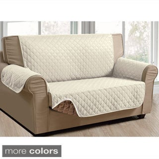 Diamond Pattern Reversible Sofa Protector