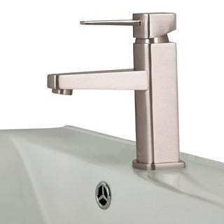 VIGO Single Lever Brushed Nickel Finish Faucet