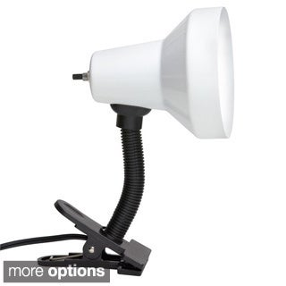 Single-light Gooseneck Clip-on Lamp
