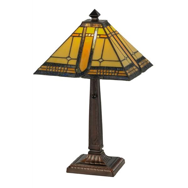 21-inch Sierra Prairie Mission Table Lamp