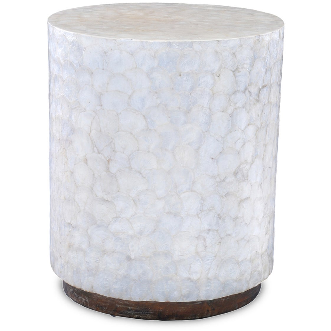 Round White Capiz Coffee Table: Privacy Policy
