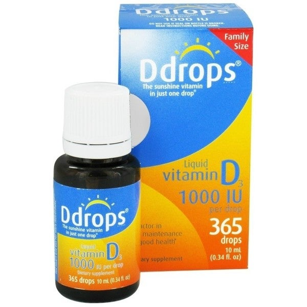 Ddrops 1000 IU Family Size (365 Drops)