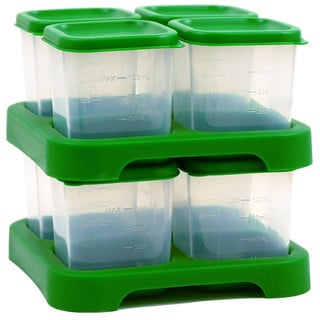 Green Sprouts Polypropylene 4 Ounce Baby Food Storage Cubes 8 Pack