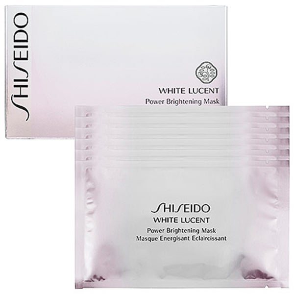 Shiseido White Lucent Power Brightening Masks (Pack of 6)