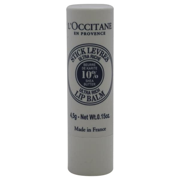 L'Occitane Shea Butter 0.15-ounce Lip Balm Stick