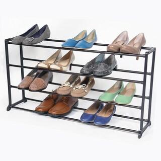 Richards Homewares 20-pair Bronze Standing Shoe Rack