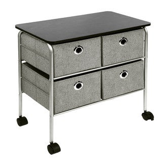Richards Homewares 23.75-inch 4-drawer Eyelet Cart