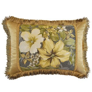 Sherry Kline Oasis Garden Luxury Boudoir Throw Pillow