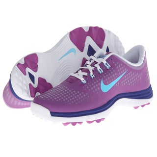 Nike Women's Lunar Empress Noble Violet/ Deep Blue/ Light Blue Golf Shoes